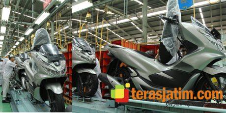 AHM Ekspor Honda PCX ke Brazil