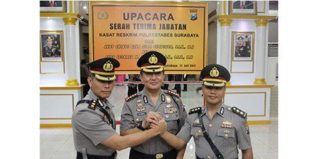 AKBP Leonard Sinambela Resmi Pimpin Tim Anti Bandit Polrestabes Surabaya