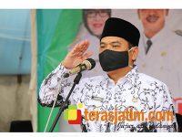 Wabup Jombang Pimpin Upacara HUT PGRI ke 75 dan Hari Guru Nasional 2020