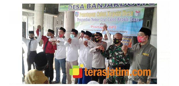 Jelang Pilkades di Banjardowo Jombang, 3 Calon Lakukan Ikrar Damai