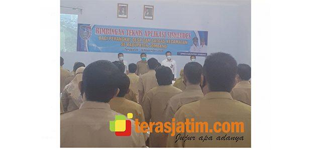 DPMD Jombang Gelar Bimtek Aplikasi Siskuedes