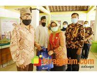 Jelang Hari Jadi Jombang ke 110, Pemkab Beri Bantuan Sosial ke Kampung KB