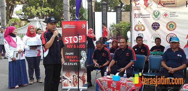 Aksi Solidaritas Aliansi Pita Merah