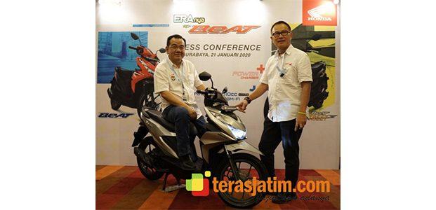 All New Honda BeAT Series dengan Teknologi Baru Resmi Meluncur di Jatim
