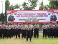 Amankan Pilkades Serentak, Polres Jombang Turunkan 424 Personilnya