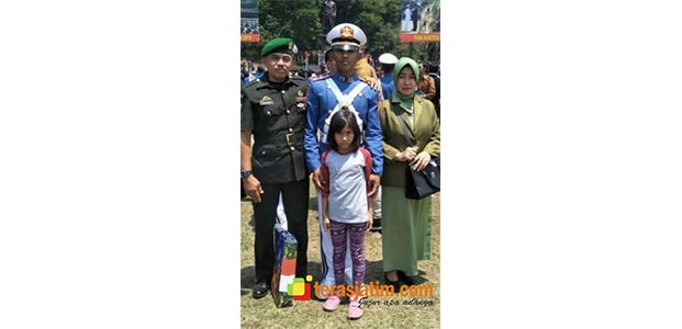 Andika Sandy Alfarino, Anak Seorang Kopral asal Malang Lolos Seleksi Taruna AAL