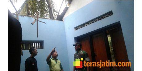 Angin Kencang Hantam Wilayah Petok Kediri, Rumah Seorang Janda Rusak