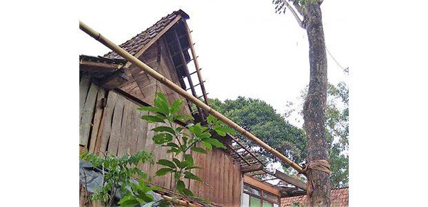 Angin Puting Beliung Terjang 2 Desa di Situbondo, Ratusan Rumah Rusak