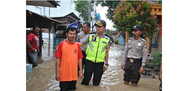 Antisipasi Banjir Luapan Bengawan Solo, Polres Bojonegoro Siaga
