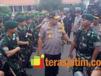 Antisipasi Aksi Massa Jelang Pengumuman Hasil Pilpres, Pasukan Yonif Raider 500/Sikatan Disiagakan
