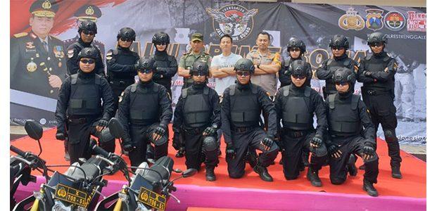 Antisipasi Maraknya Kriminalitas, Polres Trenggalek Punya Tim Jalu Crime Squad