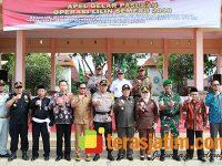Aparat Keamanan Jamin Perayaan Nataru di Lamongan Berjalan Aman
