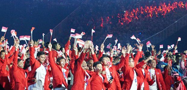 Asian Games ke-18 Resmi Dimulai