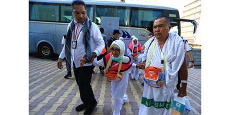 Awali Gelombang II, 453 Jemaah Calon Haji asal Papua Masuki Makkah