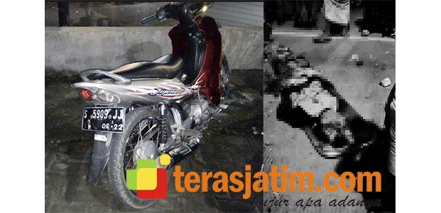 Dibonceng Motor Tanpa Rem, Pemuda Datinawong Babat Tewas Terlindas Truk Trailer