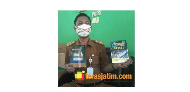 Di Tengah Pandemi, Sejumlah Guru di SMP 6 Bojonegoro Terbitkan Buku