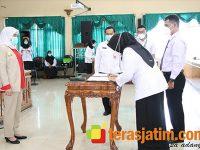 Bupati Anna Serahkan SK Tenaga PPPK di Lingkungan Pemkab Bojonegoro