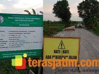 Pelaksana Proyek Jalan Rp28 M Jipo-Gunungsari Bojonegoro Abaikan Keselamatan