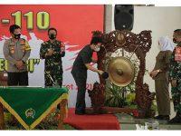 Kunjungi Bojonegoro, Wagub Bersama Pangdam dan Kapolda Buka TMMD ke-110