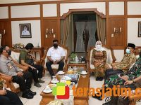 Terkait Penanggulangan Covid-19, Kepala BIN Daerah Jatim Sambangi Bojonegoro