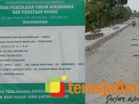 Dinilai Pengerjaannya Asal-Asalan, Proyek Jalan Rigid Miliaran di Bojonegoro Akan Dilaporkan ke KPK