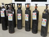 Polres Bojonegoro Sediakan Peminjaman Tabung Oksigen Bagi Warga Yang Isoman