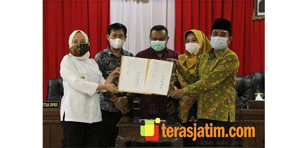DPRD Bojonegoro Akhirnya Sahkan Raperda RTRW 2021-2041