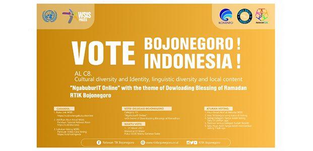 """'NgabuburIT Online"""" Karya RTIK Bojonegoro Lolos ke Kompetisi Internasional WSIS Prizes 2021 ITU-PBB"""