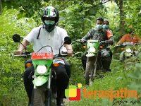 Kendarai Trail, Bupati dan Dandim Bojonegoro Pantau Wilayah Perbatasan