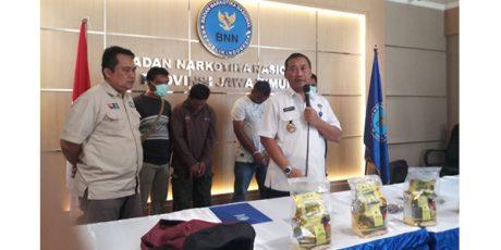 BNNP Jatim Sita 4,1 Kg Sabu dari 2 Pria asal Aceh