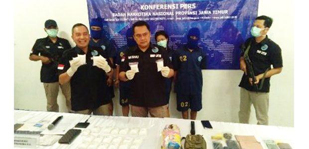 BNNP Jatim Tembak Mati Seorang Bandar Besar Sabu Dengan BB 2,5 Kilogram Lebih