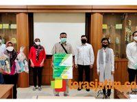 BP Jamsostek Pacitan Salurkan JKM Kepada Ahli Waris Karyawan PT. PPIS