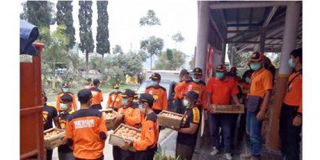 BPBD Jatim Pantau Distribusi Bantuan Logistik ke Daerah Bencana Rob