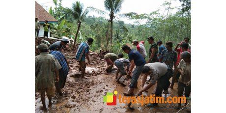 Banjir Bandang dan Longsor Terjang Sejumlah Wilayah di Jember