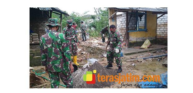 Banjir di Wilayah Paciran Lamongan Mulai Surut