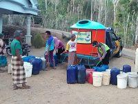Bantu Air Bersih ke Warga, Mobil Patroli Polisi Trenggalek Dimodifikasi