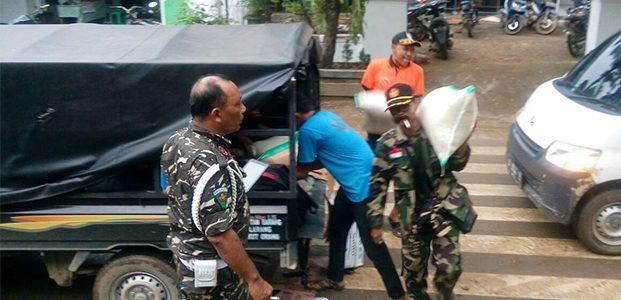 Bantu Korban Banjir dan Longsor di Pacitan, Banser Jatim Kirim Bantuan Logistik dan Personil