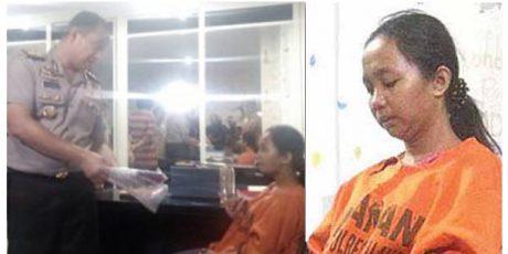 Bantu Suami Kabur dari Tahanan Polisi, Wanita Hamil Muda ini Ikut Dibui