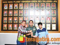 Barisan Kader Gus Dur Kunjungi Makorem Bhaladika Jaya Malang
