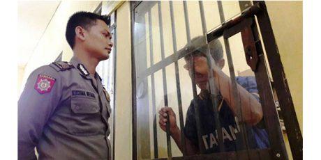 Bawa Celurit di Jalanan, Bapak Satu Anak asal Pasuruan ini Ngombong di Sel Polisi