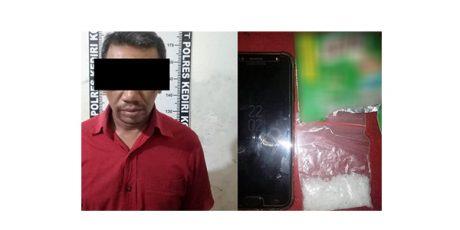 Bawa Sabu, Pria asal Tuban Ditangkap di Kediri