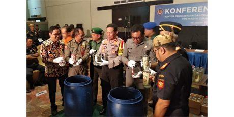 Bea Cukai Malang Musnahkan Jutaan Batang Rokok Ilegal