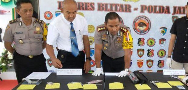 Komplotan Pelaku Begal Anggota Satpol PP Kota Blitar Dibekuk, 2 Diantaranya Didor
