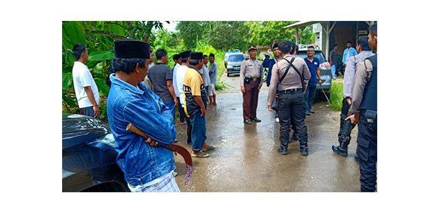 Bentrok Antar Massa di TPS Sampang, Seorang Tertembak