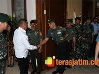 Beri Arahan Prajurit, Menhan Ryamizard Ryacudu Kunjungi Kota Malang