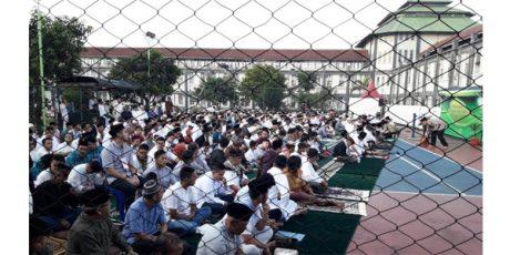 Berkah Idul Fitri, 382 Napi Bebas Saat Lebaran