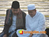 Bersama Warga dan Ulama, Danrem Baladhika Jaya Shalat Idul Adha di Lapangan Rampal