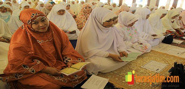 H-1 Pilkada, Bhayangkari Gelar Doa Bersama