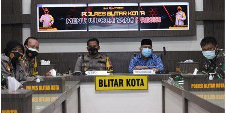 Polres Blitar Kota Siapkan 2 Skenario Pengendalian Larangan Mudik