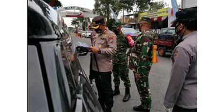 Mulai Hari Ini, Polisi Perketat Arus Balik di Perbatasan Blitar